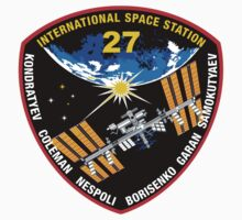 International Space Stataion (ISS) Mission 27 One Piece - Short Sleeve