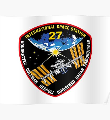 International Space Stataion (ISS) Mission 27 Poster