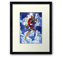 Goddess of Thunder Framed Print