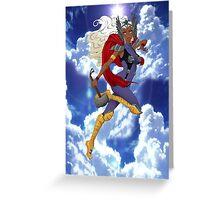 Goddess of Thunder Greeting Card
