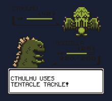 Wild CTHULHU uses Tentacle Tackle!  One Piece - Short Sleeve