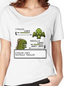 Wild CTHULHU uses Tentacle Tackle!  Women's Relaxed Fit T-Shirt