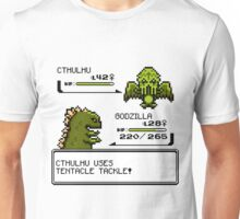 Wild CTHULHU uses Tentacle Tackle!  Unisex T-Shirt