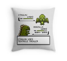 Wild CTHULHU uses Tentacle Tackle!  Throw Pillow