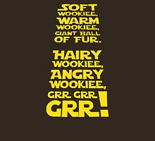 Hairy Wookiee Womens Fitted T-Shirt