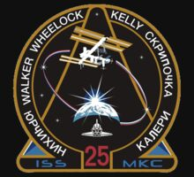 ISS Mission 25 One Piece - Short Sleeve