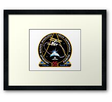 ISS Mission 25 Framed Print