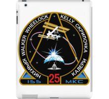 ISS Mission 25 iPad Case/Skin