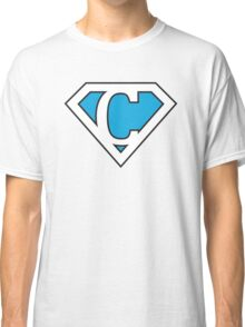 C letter in Superman style Classic T-Shirt