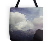 Clouds over Mountains Tote Bag