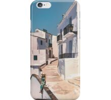 Frigiliana, white village in Andalusia. iPhone Case/Skin