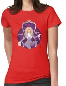 Purple Queen Womens Fitted T-Shirt
