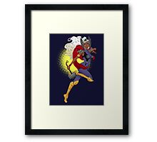 Goddess of Thunder (w/o name) Framed Print