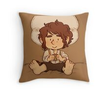 Tea and Home Throw Pillow