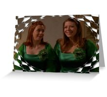 Buffy Willow Tara Bridesmaids Greeting Card