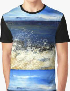 Sandy toes and salty kisses Graphic T-Shirt
