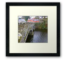 The Bridge Over The River Lennon...................Ireland Framed Print