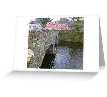 The Bridge Over The River Lennon...................Ireland Greeting Card