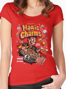 Magic Charms Women's Fitted Scoop T-Shirt