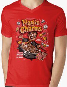 Magic Charms Mens V-Neck T-Shirt