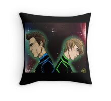 Dragon War - Roy and Richie Throw Pillow