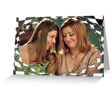 Buffy Tara Willow Once More With Feeling 2 Greeting Card