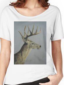 Portrait of a Deer Women's Relaxed Fit T-Shirt