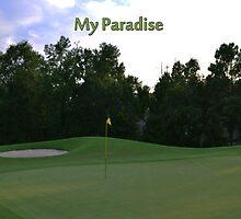 Golf Paradise by Brian Blaine