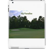 Golf Paradise iPad Case/Skin