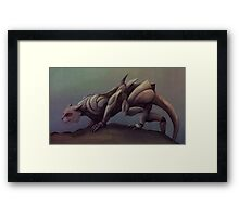 Mecha-Cat Framed Print