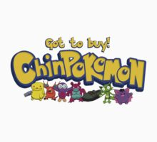 Chinpokomon  by bennymcbean