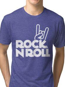 rock n roll Tri-blend T-Shirt