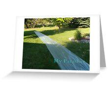 Slide Paradise Greeting Card