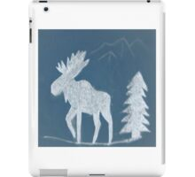 Snow Moose iPad Case/Skin