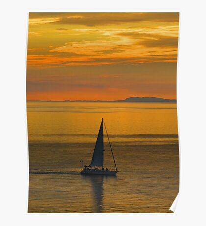 driftin' and driftin like a ship over the see - derivando y derivando como un barco en el mar Poster