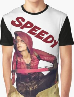 Speedy - Thea Queen - Comic Book Text Graphic T-Shirt