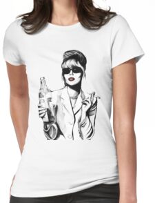 What Would Patsy Do, Sweetie? Womens Fitted T-Shirt