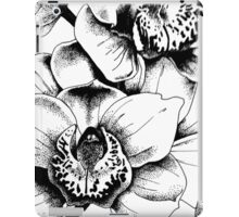 Ink Orchids iPad Case/Skin