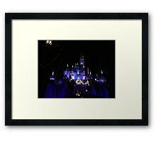 Disneyland Castle Diamond Celebration  Framed Print