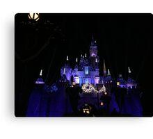 Disneyland Castle Diamond Celebration  Canvas Print