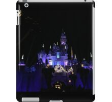 Disneyland Castle Diamond Celebration  iPad Case/Skin