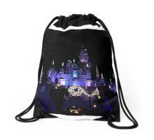 Disneyland Castle Diamond Celebration  Drawstring Bag