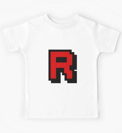 Team Pixellated R Kids Tee