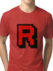 Team Pixellated R Tri-blend T-Shirt