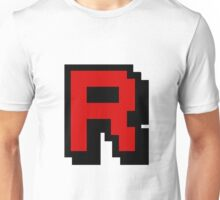 Team Pixellated R Unisex T-Shirt