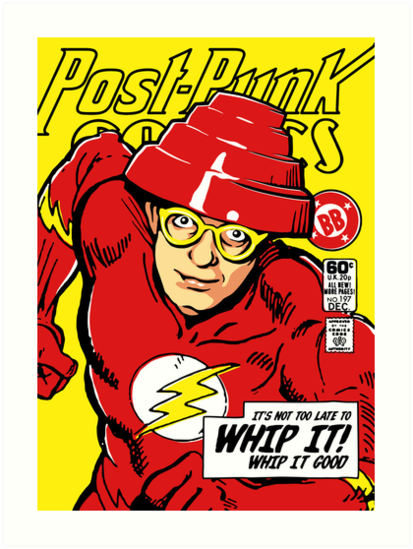Post-Punk Comics | Whip It by butcherbilly