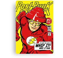 Post-Punk Comics | Whip It Canvas Print