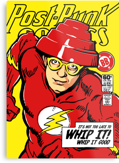 Post-Punk Comics   Whip It by butcherbilly