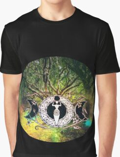 Goddess Of The Forest Graphic T-Shirt