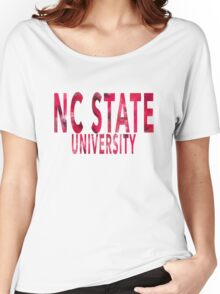 North Carolina State University Women's Relaxed Fit T-Shirt